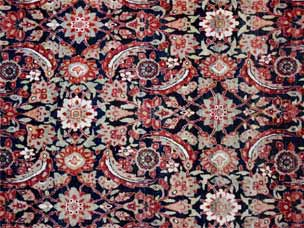Kirman carpet 402 x 301cm