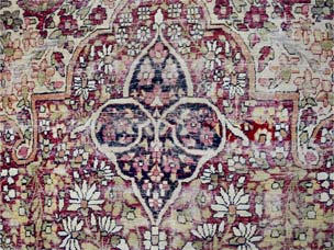 Kirman 'Ravar' carpet 554 x 384cm
