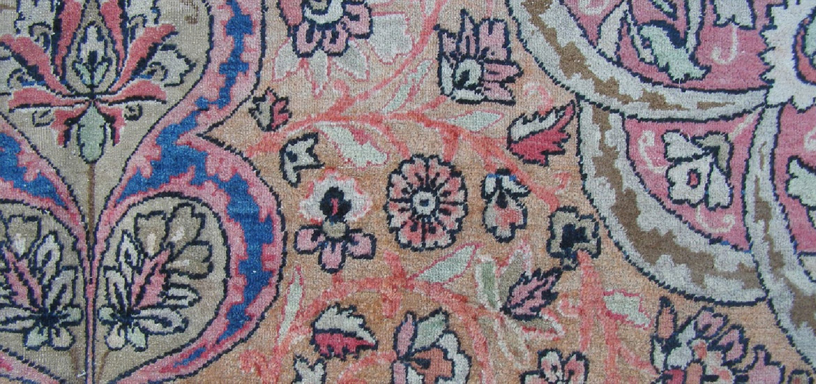 Kirman carpet 393 x 270cm