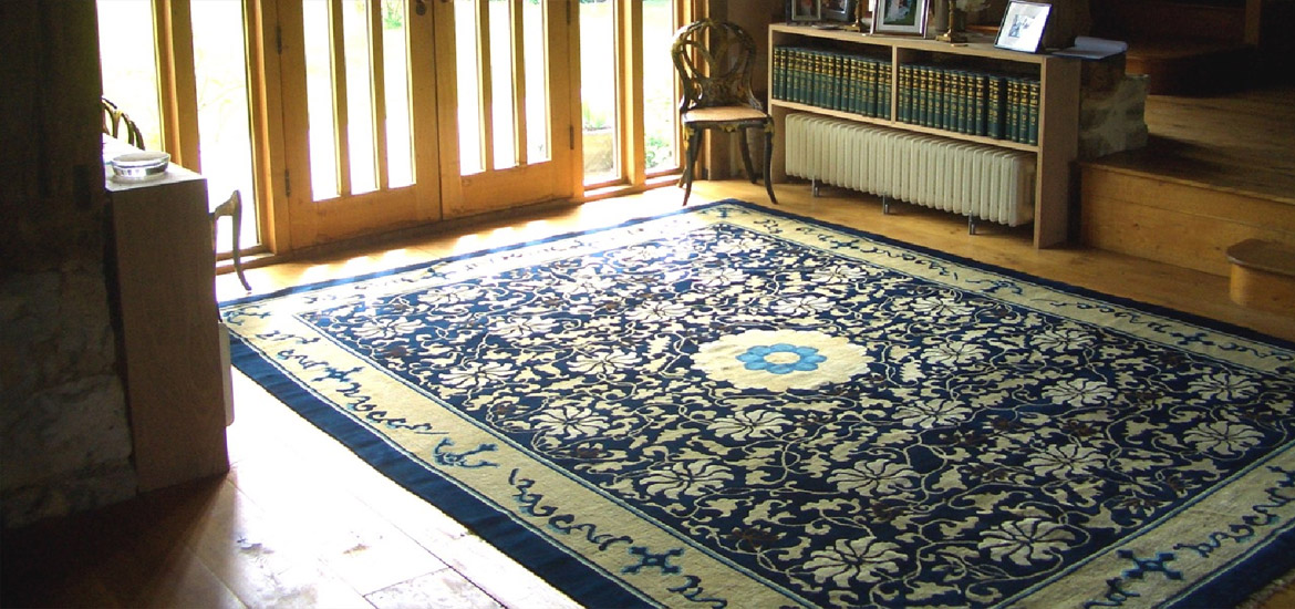 rare Peking carpet, circa 1900